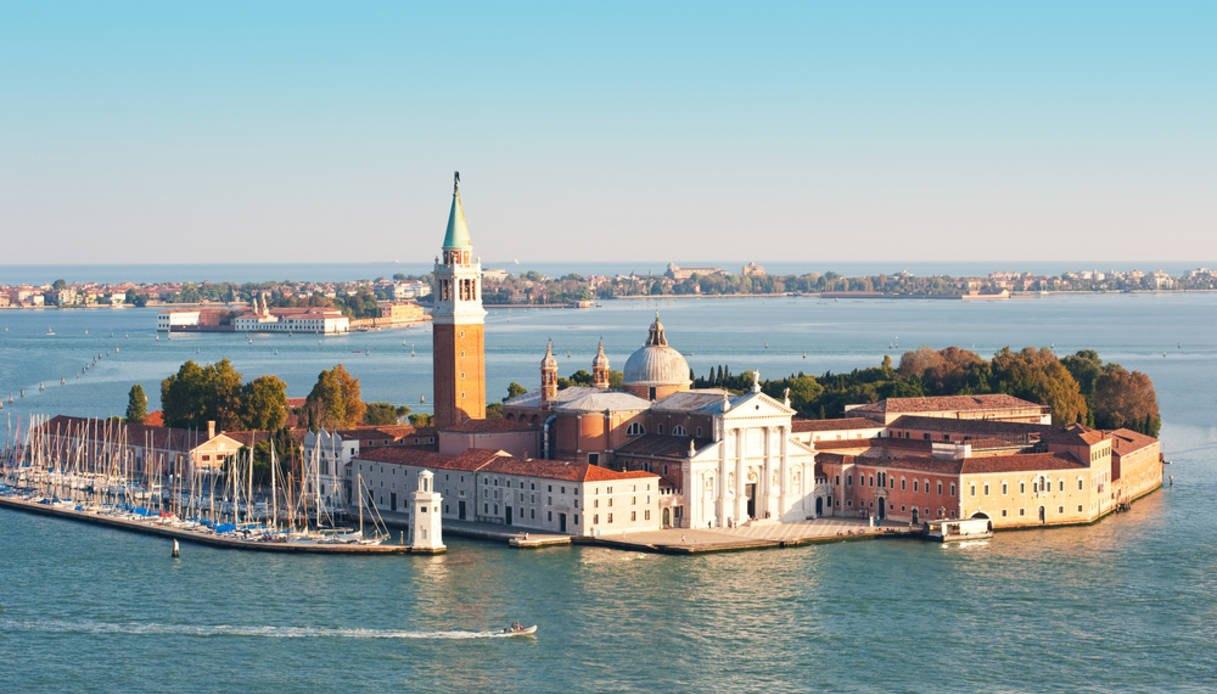 Остров - Сан-Джорджо Маджоре в Венеции