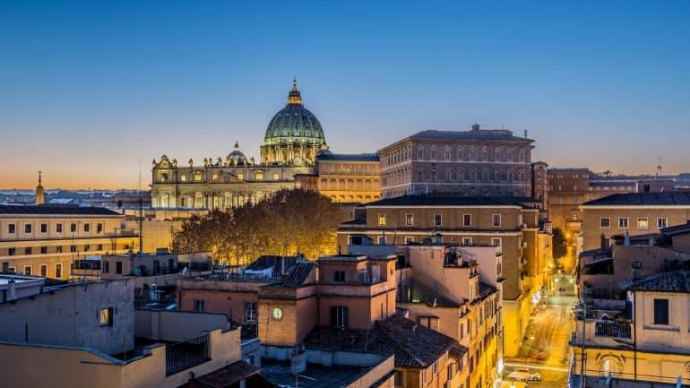 Район Прати (около Ватикана) в Риме
