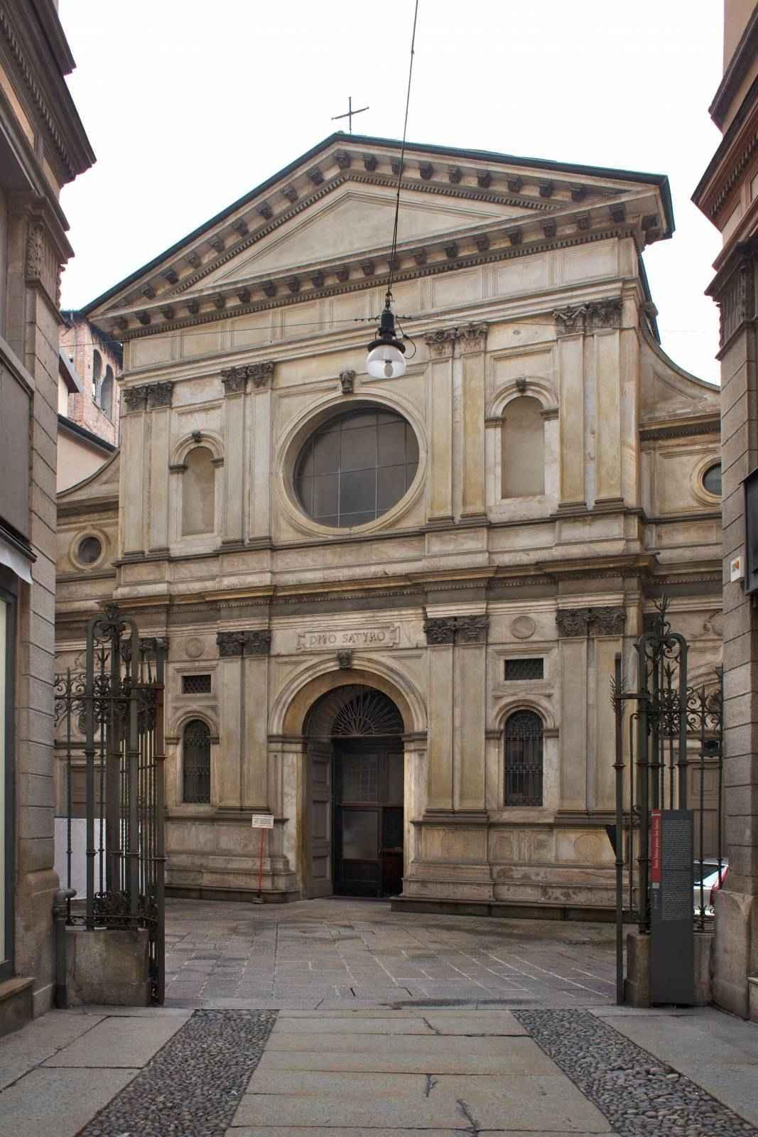 Церковь Санта Мария прессо Сан Сатиро в Милане
