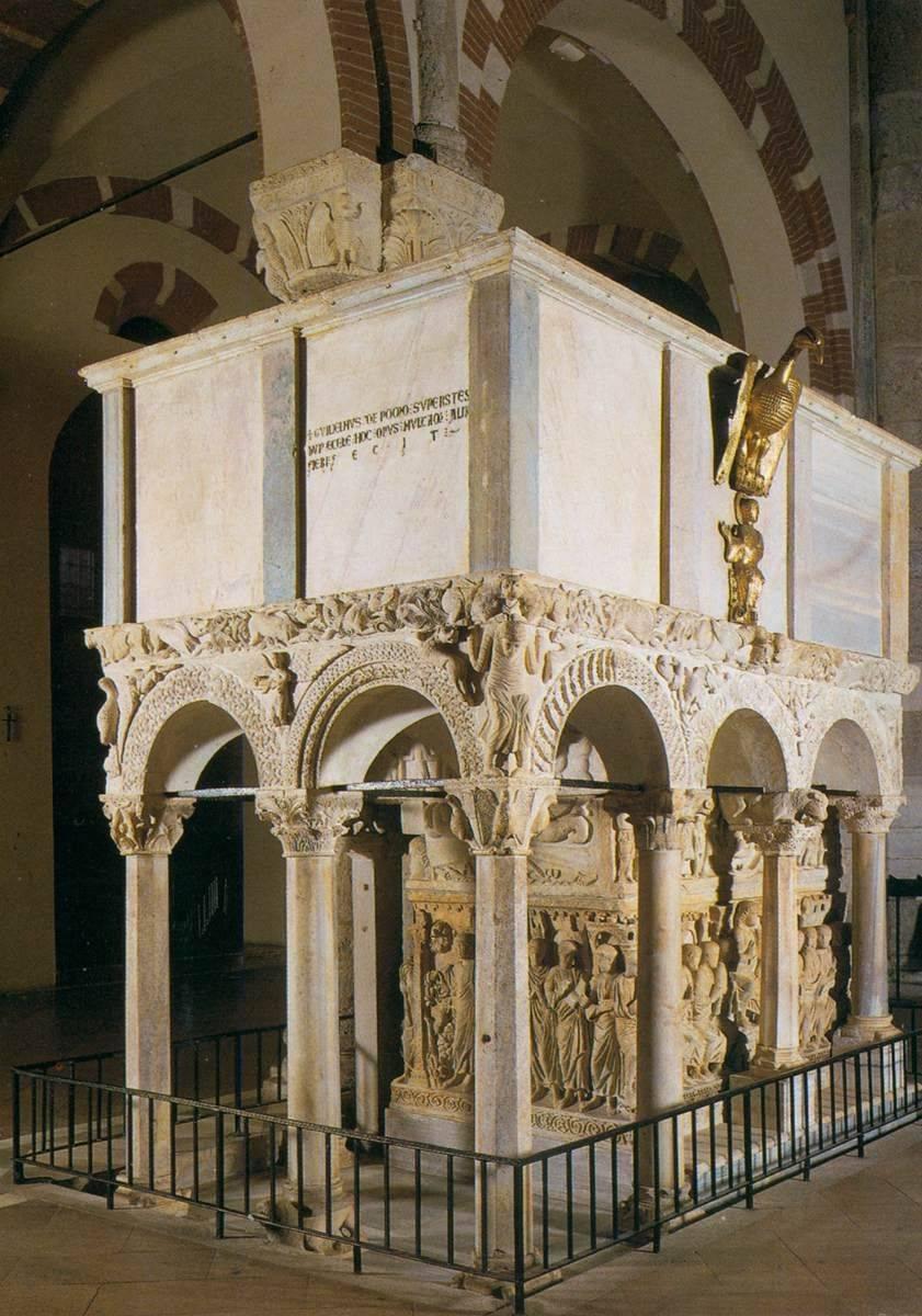 саркофаг Стилихона 4-го века в Милане