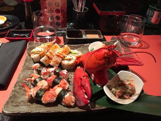 Ресторан Zen Sushi в районе Прати