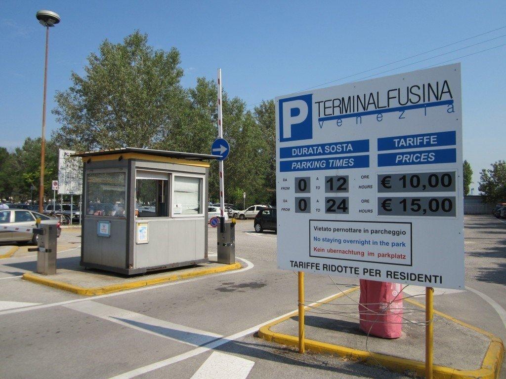 Fusina Venezia Terminal Parking