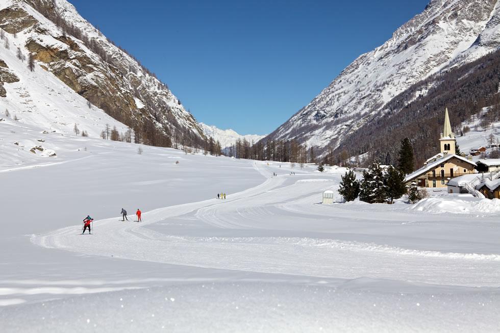 Регион Валле-д'Аоста - горнолыжный курорт