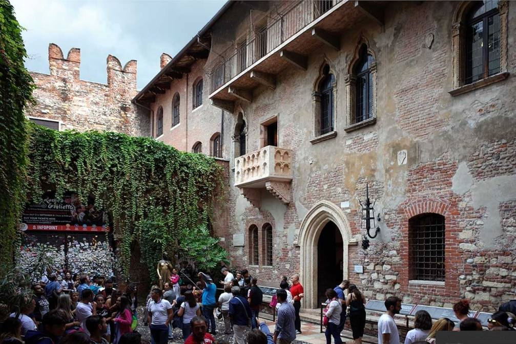 балкон Ромео и Джульетты