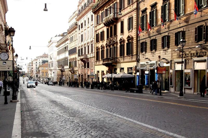 Виа Национале в Риме