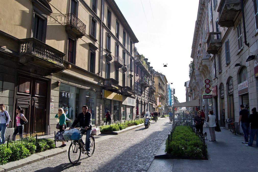 улица Паоло Сарпи в Милане