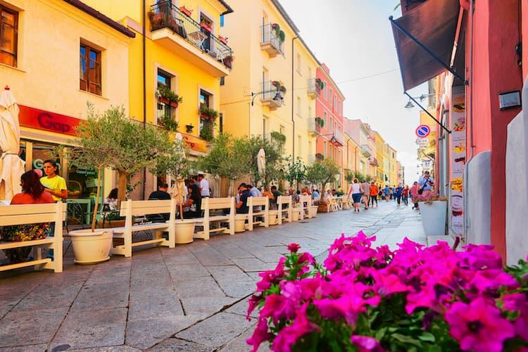 Город Ольбия на острове Сардиния