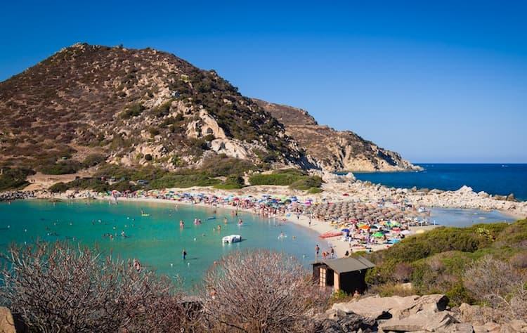 Город Вилласимиус на острове Сардиния