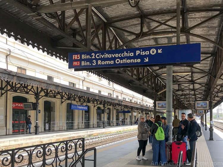 Как добраться из Рима до порта Чивитавеккья на поезде