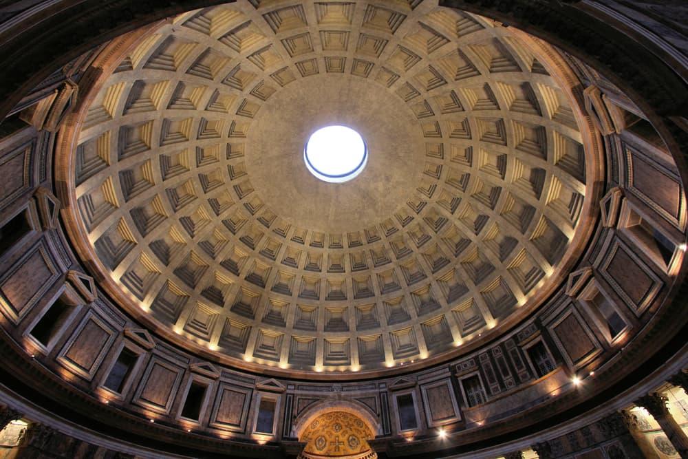 Купол Пантеона в Риме