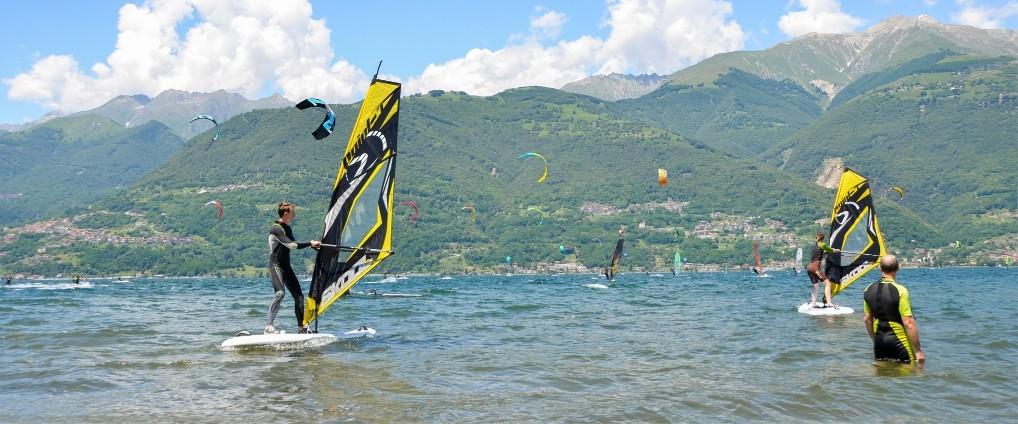 водные виды спорта озеро Комо