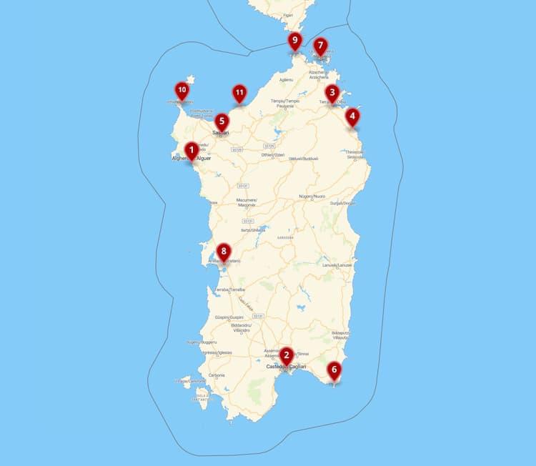 где остановиться на Сардинии: лучшие города и отели