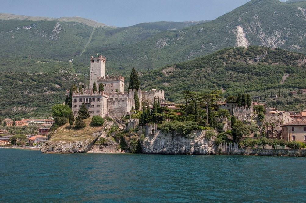 замок Скалигеро в Мальчезине