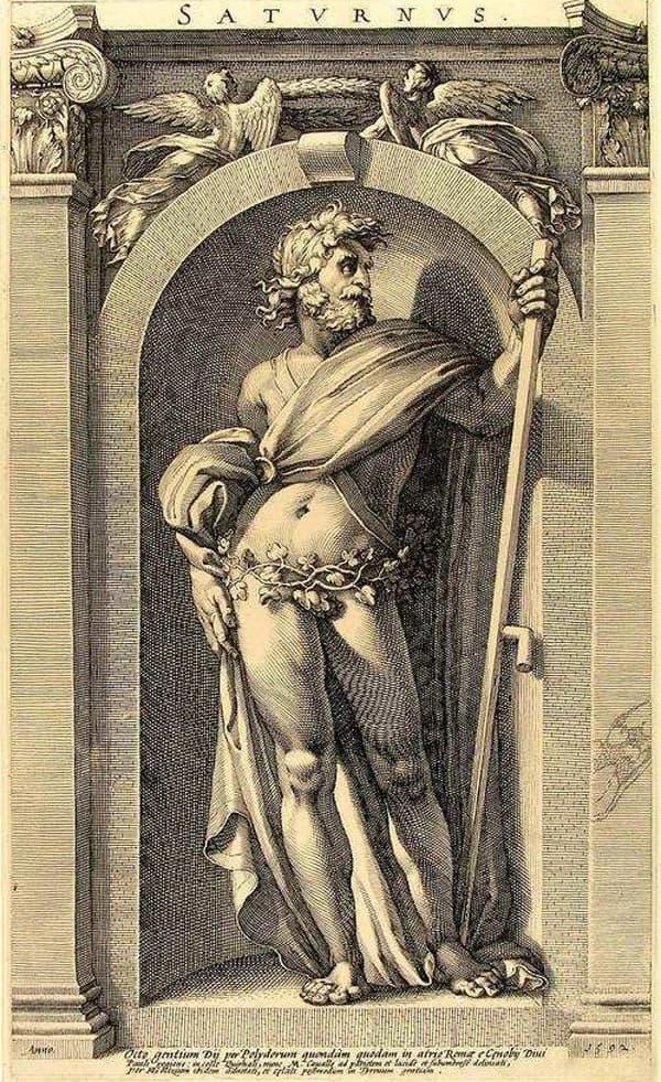 Римский бог Сатурн