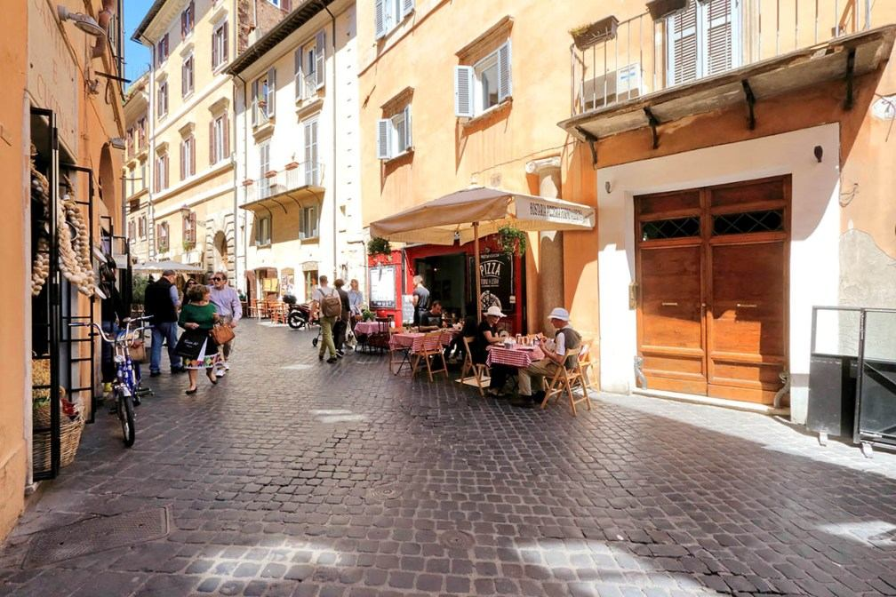 улица via del Governo Vecchio