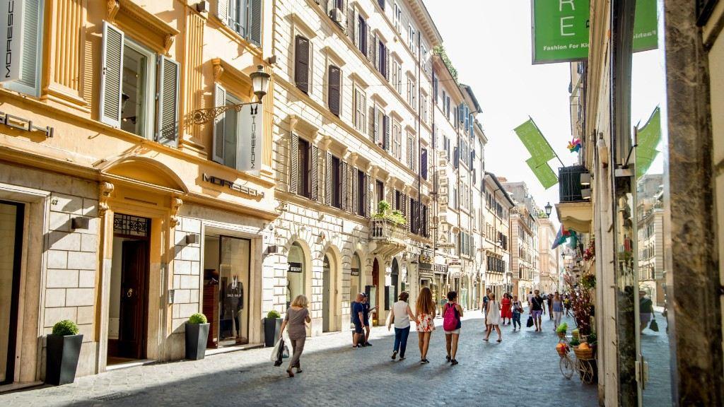улица via Frattina