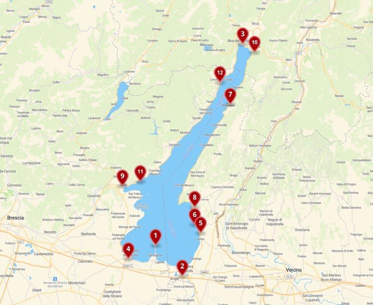 Где остановиться на озере Гарда: лучшие отели и места