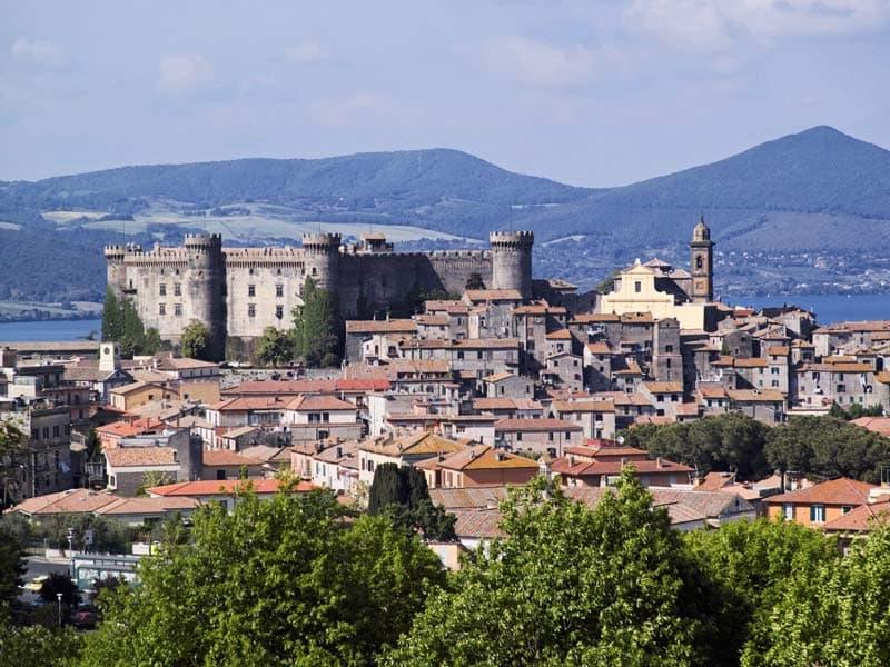 Замок Браччано в окрестностях Рима