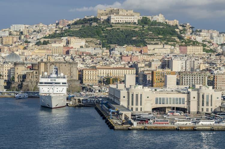 Район порта в Неаполе