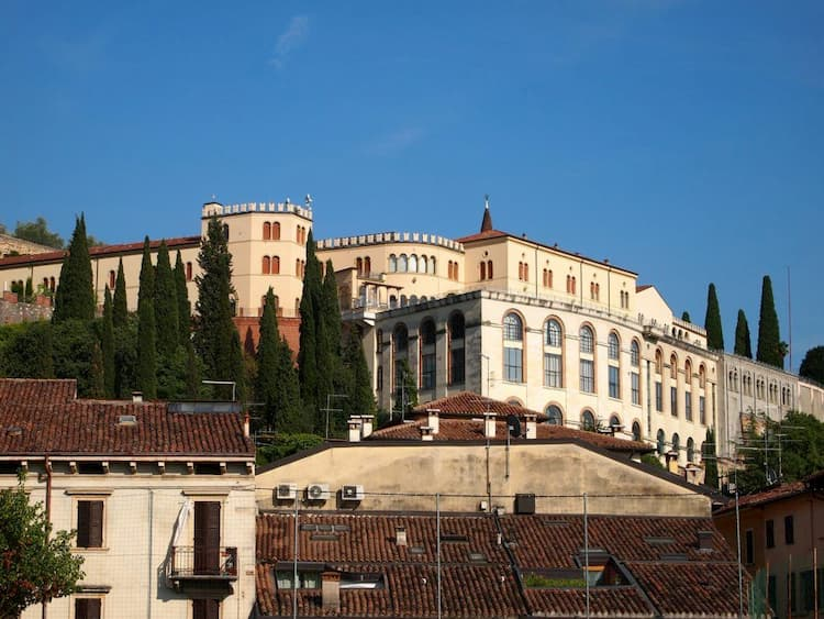 Район Веронетта в Вероне