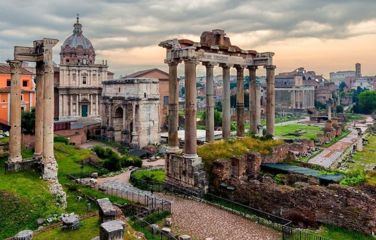 Римский форум в Риме