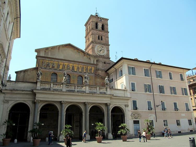 Свод церкви Санта Мария ин Трастевере