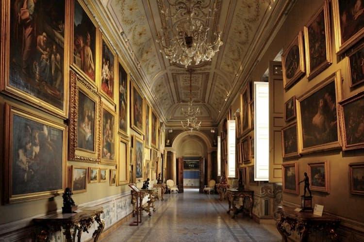 Галерея в палаццо Корсини