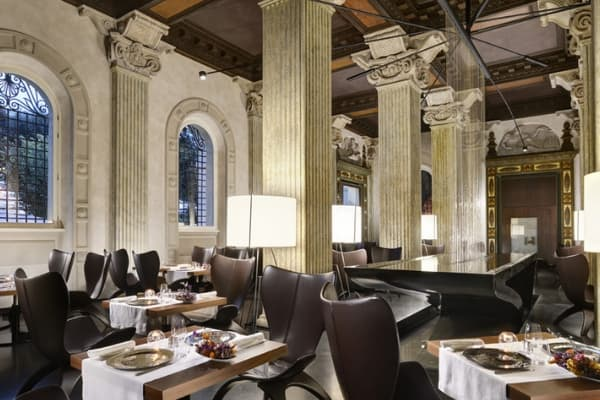 Ресторан Senses в Риме