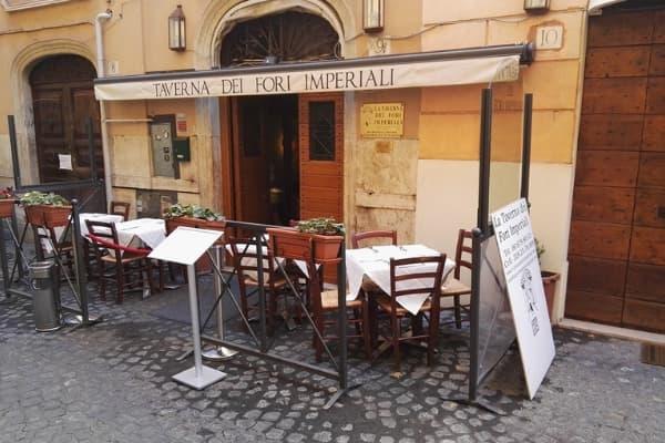 Ресторан Fori Imperiali в Риме