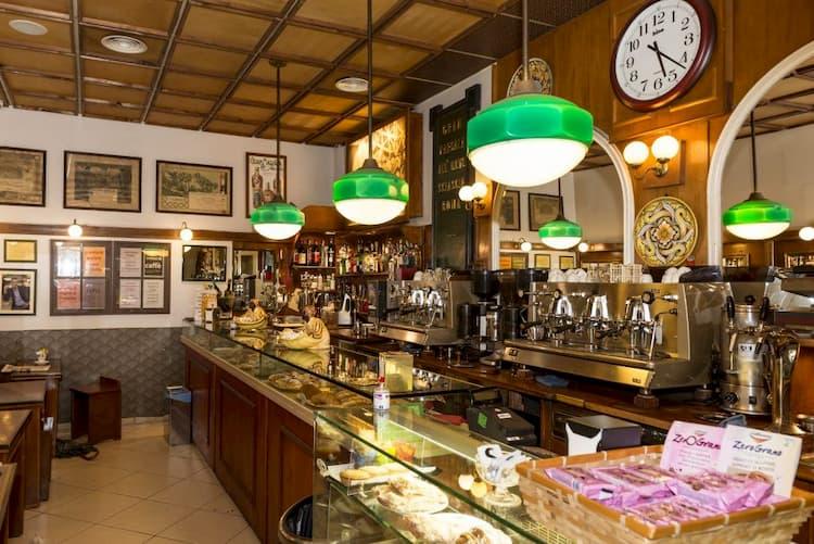Кафе Sciascia Caffe в Риме