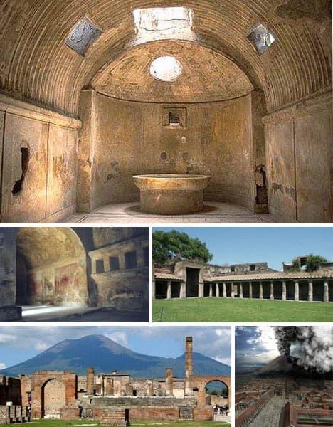 Купание в греческие и римские времена в термах Рима