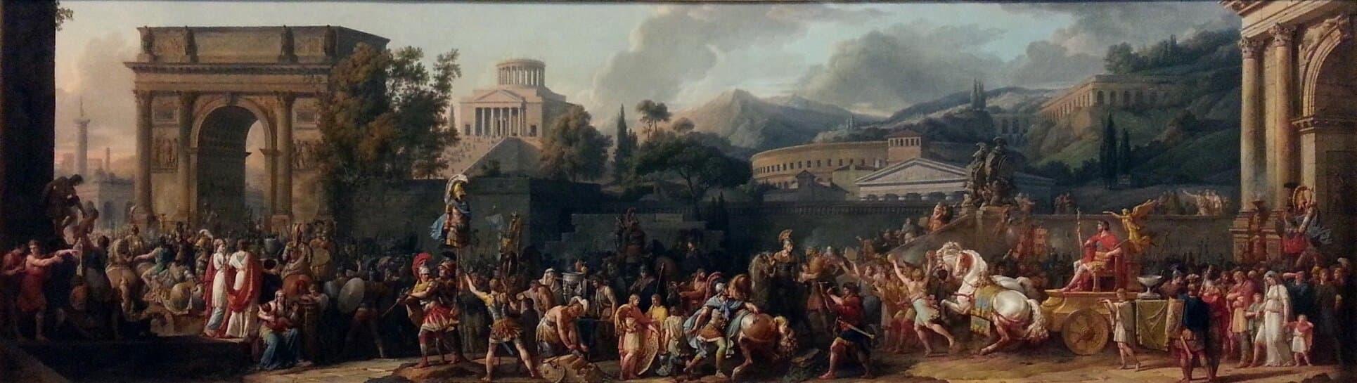 Что символизируют триумфальные арки Рима