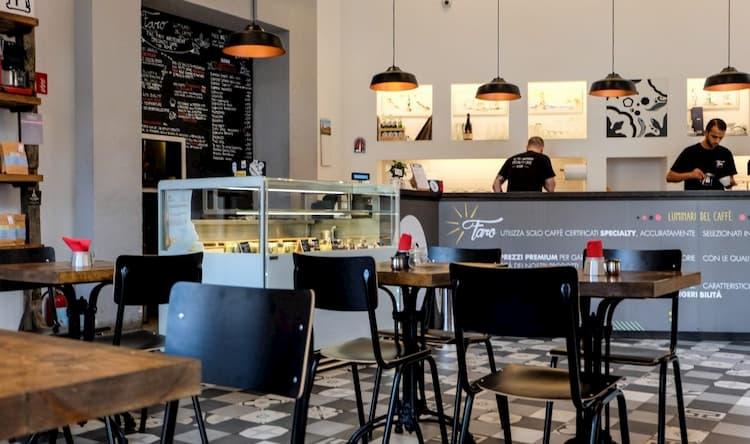 Кофейня Faro в Риме