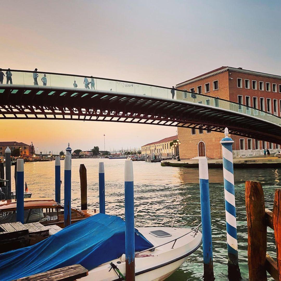 Мост Конституции в Венеции