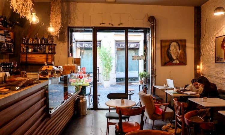 Кофейня Barnum Cafe в Риме