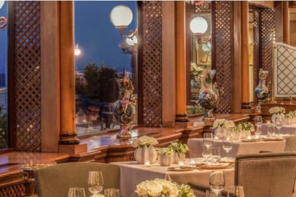 Ресторан Pergola в Риме