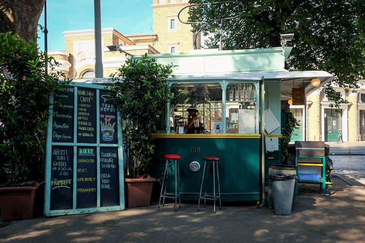 Кофейня Tram Depot в Риме