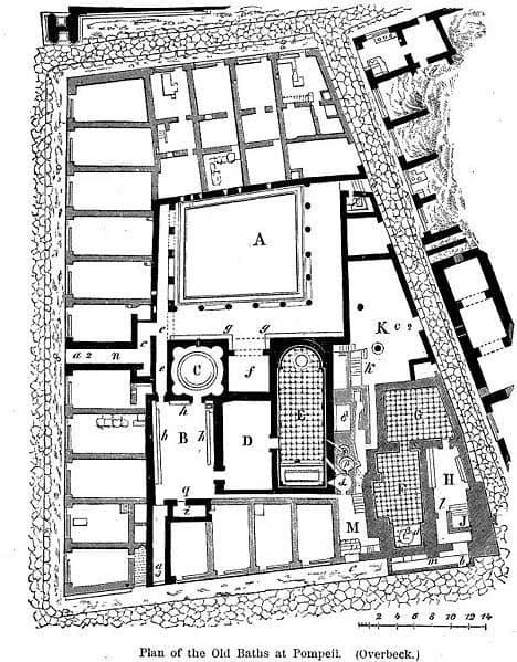 План терм Рима