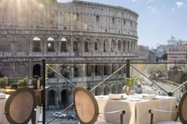 Ресторан Aroma в Риме