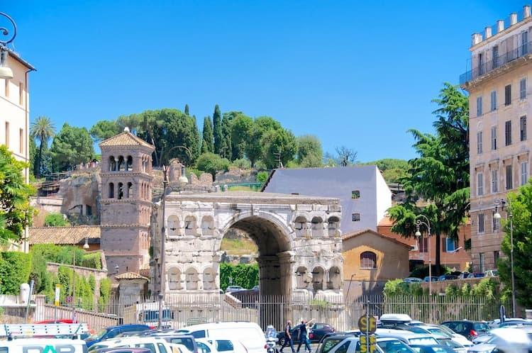 Арка Януса в Риме