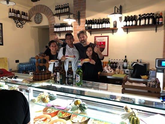 Ресторан Borghiciana Pastificio Artigianale в Риме