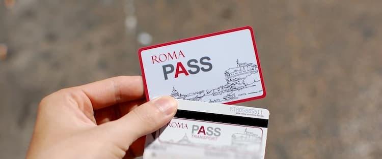 Туристическая карта Roma Pass в Риме