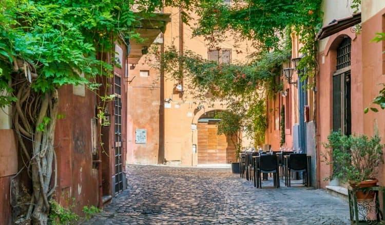 Район Трастевере в Риме